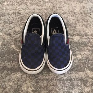 Vans Toddler Walker Kids Slip On Shoes size 6